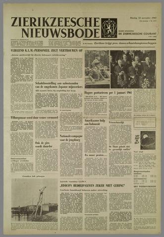 Zierikzeesche Nieuwsbode 1963-11-12