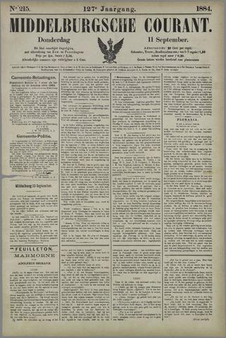 Middelburgsche Courant 1884-09-11