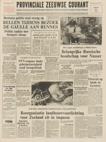Provinciale Zeeuwse Courant 1969-02-01