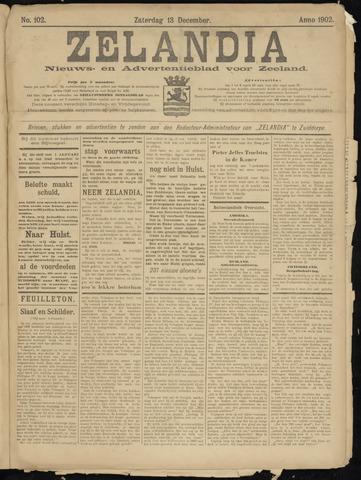 Zelandia. Nieuws-en advertentieblad voor Zeeland | edities: Het Land van Hulst en De Vier Ambachten 1902-12-13