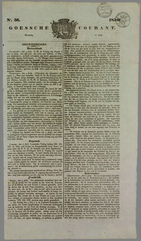 Goessche Courant 1836-07-11
