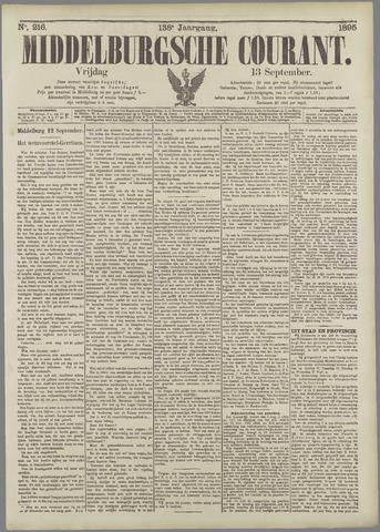 Middelburgsche Courant 1895-09-13