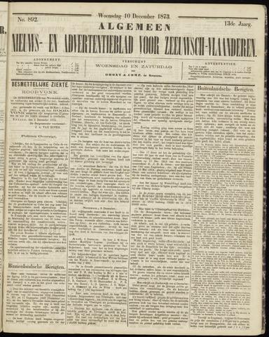 Ter Neuzensche Courant. Algemeen Nieuws- en Advertentieblad voor Zeeuwsch-Vlaanderen / Neuzensche Courant ... (idem) / (Algemeen) nieuws en advertentieblad voor Zeeuwsch-Vlaanderen 1873-12-10