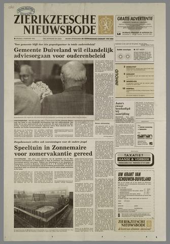 Zierikzeesche Nieuwsbode 1993-02-05