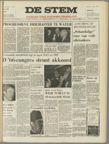 de Stem 1971-03-01