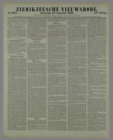 Zierikzeesche Nieuwsbode 1888-08-25