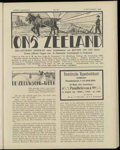 Ons Zeeland / Zeeuwsche editie 1928-09-08