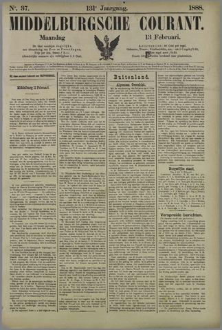 Middelburgsche Courant 1888-02-13
