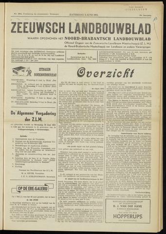 Zeeuwsch landbouwblad ... ZLM land- en tuinbouwblad 1951-06-02