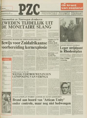 Provinciale Zeeuwse Courant 1977-08-29