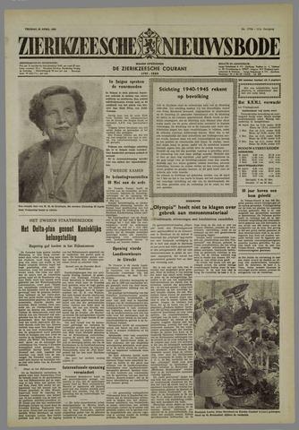 Zierikzeesche Nieuwsbode 1955-04-29
