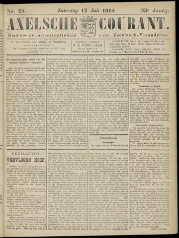 Axelsche Courant 1919-07-12