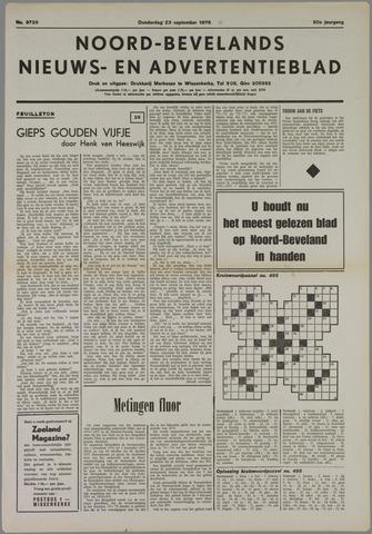 Noord-Bevelands Nieuws- en advertentieblad 1976-09-23