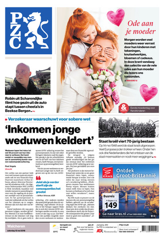 Provinciale Zeeuwse Courant 2018-05-12