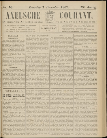Axelsche Courant 1907-12-07