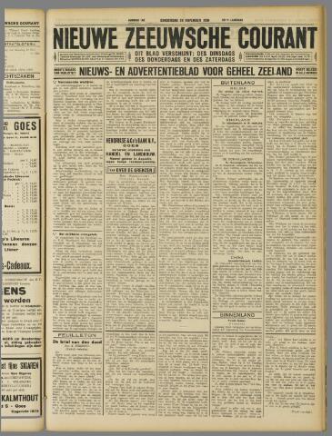 Nieuwe Zeeuwsche Courant 1929-11-28