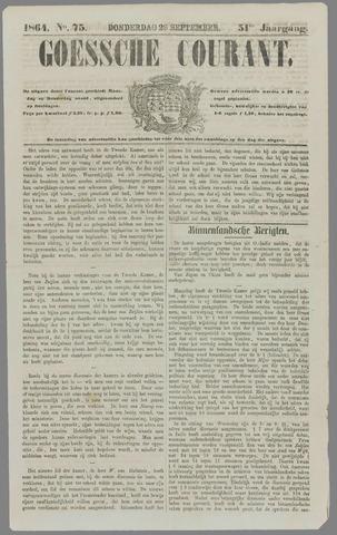 Goessche Courant 1864-09-29