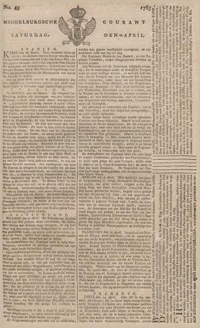 Middelburgsche Courant 1785-04-23