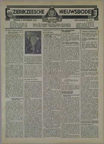 Zierikzeesche Nieuwsbode 1942-11-06