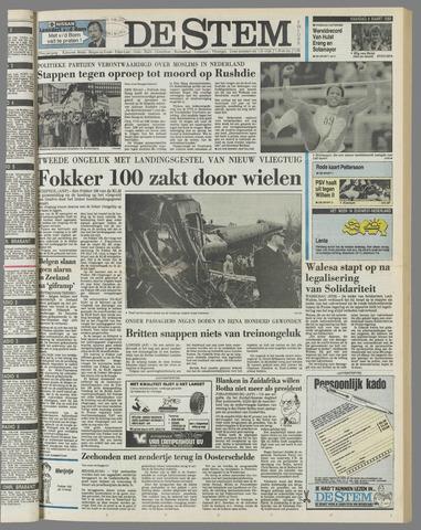 de Stem 1989-03-06