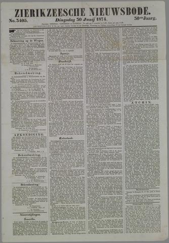 Zierikzeesche Nieuwsbode 1874-06-30