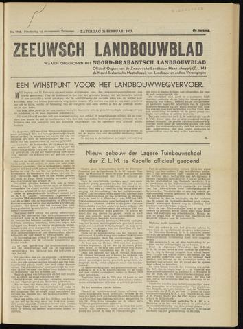 Zeeuwsch landbouwblad ... ZLM land- en tuinbouwblad 1955-02-26
