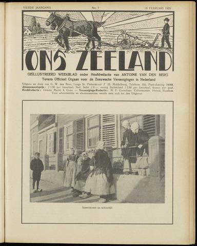 Ons Zeeland / Zeeuwsche editie 1929-02-16