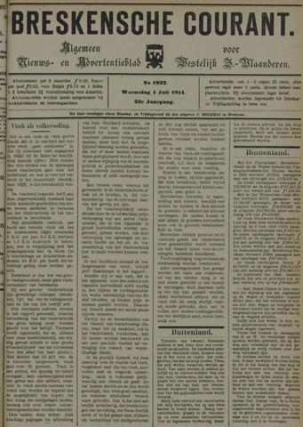 Breskensche Courant 1914-07-01