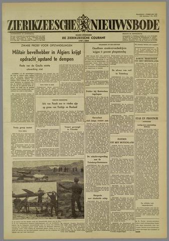 Zierikzeesche Nieuwsbode 1960-02-01