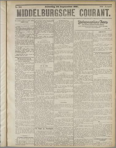 Middelburgsche Courant 1921-09-24