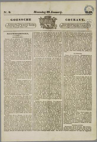 Goessche Courant 1849-01-29