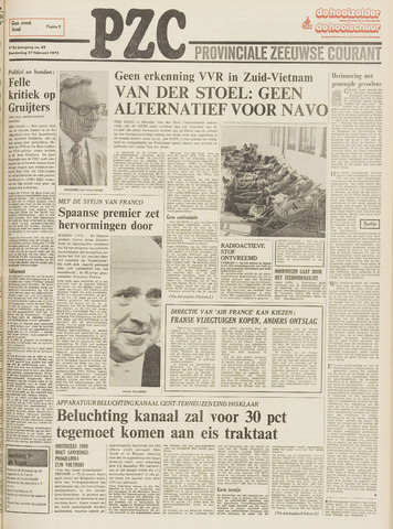 Provinciale Zeeuwse Courant 1975-02-27