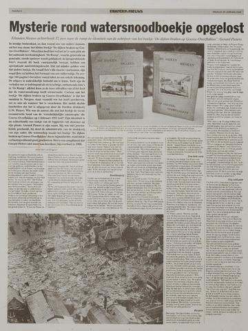 Watersnood documentatie 1953 - kranten 2005-01-28