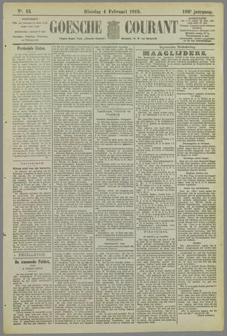 Goessche Courant 1919-02-04