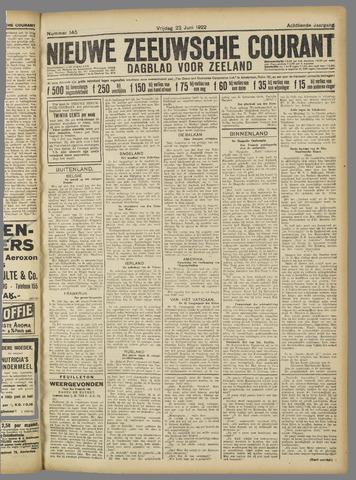 Nieuwe Zeeuwsche Courant 1922-06-23