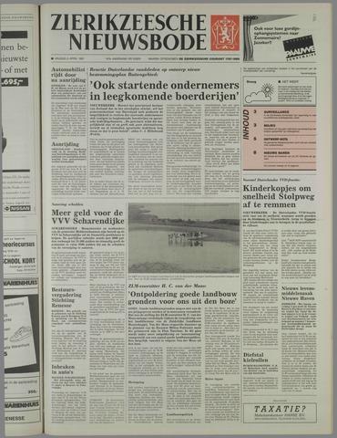 Zierikzeesche Nieuwsbode 1991-04-05