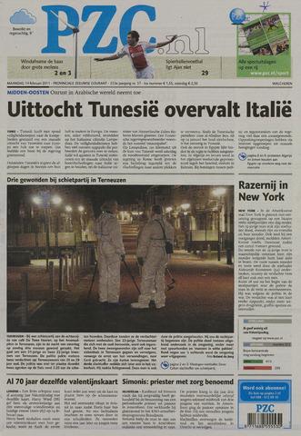 Provinciale Zeeuwse Courant 2011-02-14