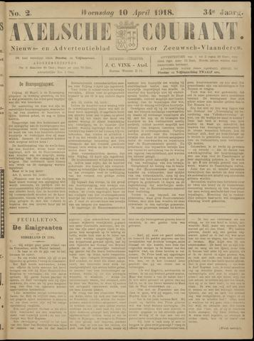 Axelsche Courant 1918-04-10