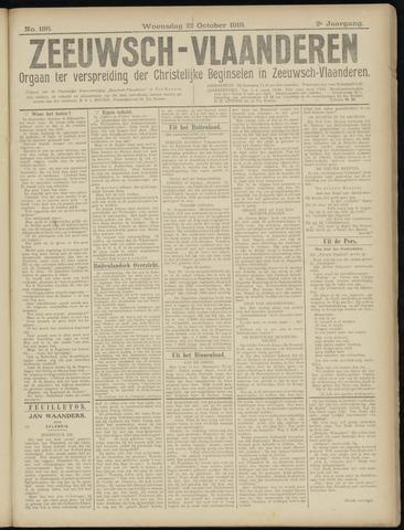 Luctor et Emergo. Antirevolutionair nieuws- en advertentieblad voor Zeeland / Zeeuwsch-Vlaanderen. Orgaan ter verspreiding van de christelijke beginselen in Zeeuwsch-Vlaanderen 1919-10-22