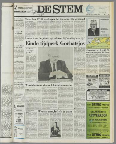de Stem 1991-12-27