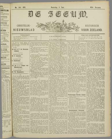De Zeeuw. Christelijk-historisch nieuwsblad voor Zeeland 1897-06-03