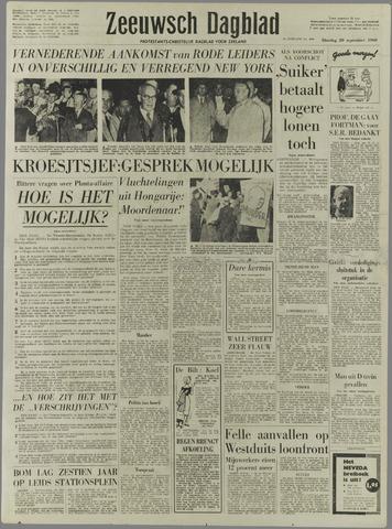 Zeeuwsch Dagblad 1960-09-20