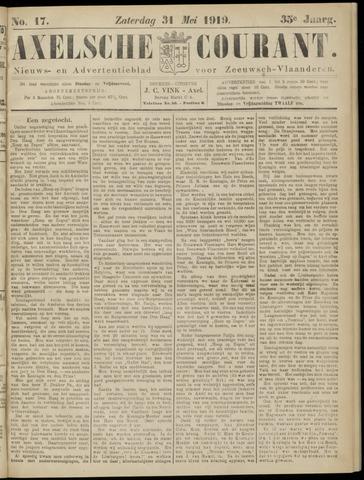Axelsche Courant 1919-05-31