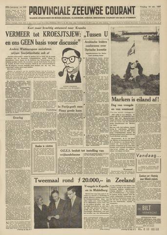 Provinciale Zeeuwse Courant 1957-10-18