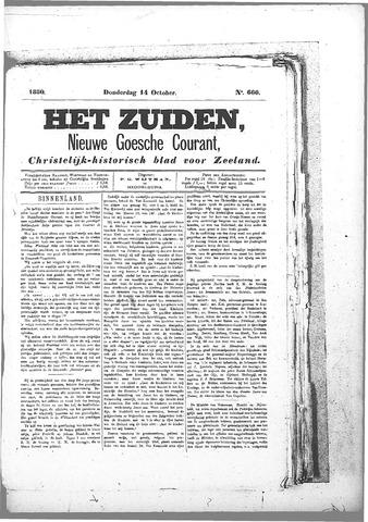 Nieuwe Goessche Courant 1880-10-14