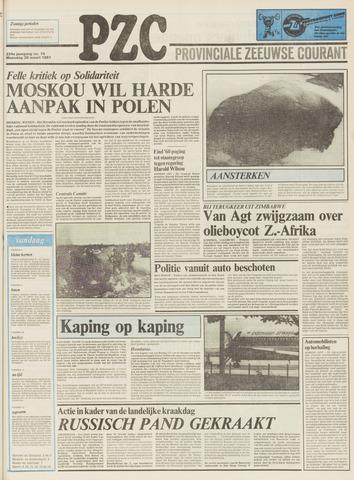 Provinciale Zeeuwse Courant 1981-03-30