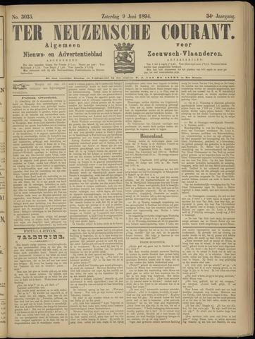 Ter Neuzensche Courant. Algemeen Nieuws- en Advertentieblad voor Zeeuwsch-Vlaanderen / Neuzensche Courant ... (idem) / (Algemeen) nieuws en advertentieblad voor Zeeuwsch-Vlaanderen 1894-06-09