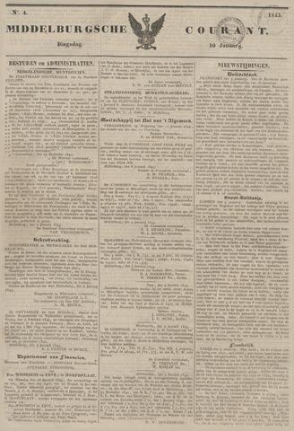 Middelburgsche Courant 1843-01-10