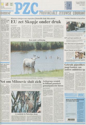 Provinciale Zeeuwse Courant 2001-06-26