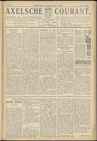 Axelsche Courant 1939-02-03
